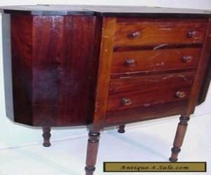 ANTIQUE 1920s MARTHA WASHINGTON SOLID MAHOGANY SEWING CABINET for Sale