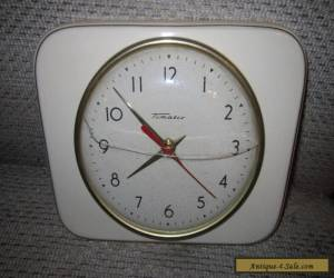ANTIQUE VINTAGE CERAMIC TIMATIC MADE IN GERMANY CLOCK COLLECTORS   ****** for Sale