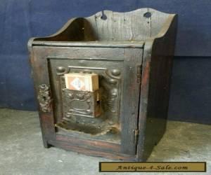 Antique Edwardian Oak Smokers Cabinet for Sale