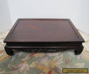 Beautiful Antique Chinese Rosewood Stand for Sale