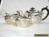 Simply Beautiful Antique Sterling Silver Tea Set