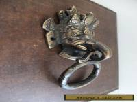 VINTAGE ANTIQUE STYLE HAND MADE SOLID BRASS  Ganesha Door Knocker