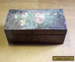 Antique/ Vintage Wooden Pencil Box possibly Victorian/Edwardian  for Sale