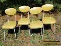 4 VINTAGE 1960s SHELBY WILLIAMS STYLE MID-CENTURY MODERN ALUMINUM GAZELLE CHAIRS