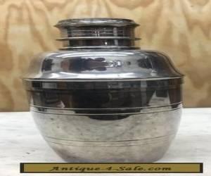 Mint Antique Art Deco Carrington Silver Plate Cocktail Shaker Drinks Bar Vintage for Sale