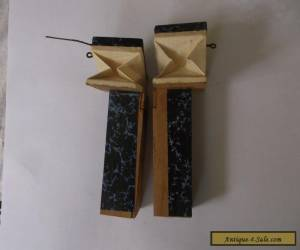 REGULA PAIR OF BELLOWS FROM A GERMAN CUCKOO CLOCK  for Sale