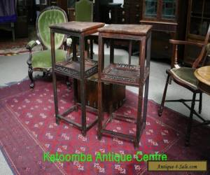 Pair of Antique Chinese Side Tables for Sale