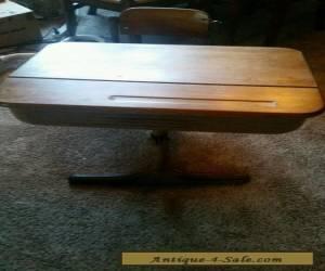 Antique Vintage Child's School Desk & Chair for Sale