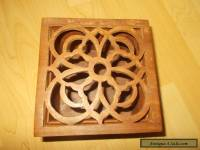 Wooden Knot Box