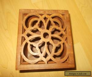 Wooden Knot Box for Sale