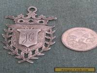 Silver Fob / Medal 1904 Hand Crafted Birmingham