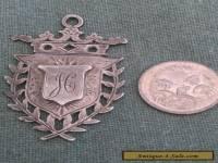 Silver Fob / Medal 1904 Hand Crafted Birmingham