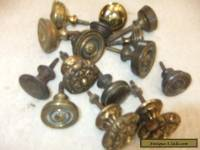 Huge Bargain Selection Solid Brass Antique, 18th / 19th Cent.  Knobs Handles..