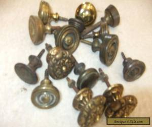 Huge Bargain Selection Solid Brass Antique, 18th / 19th Cent.  Knobs Handles.. for Sale
