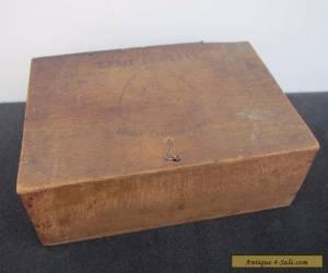 Vintage Wooden 'Craie of Paris' Box for Sale