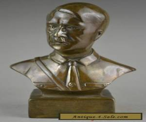 6inch collectible WWII copper carving decorate Adolf Hitler statue for Sale