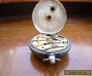VINTAGE SOLID SILVER POCKET WATCH for Sale