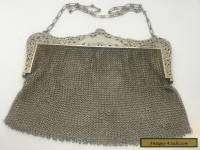 Vintage R. Blackinton Sterling Silver 925 Mesh Purse Antique Beautiful