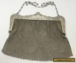 Vintage R. Blackinton Sterling Silver 925 Mesh Purse Antique Beautiful for Sale
