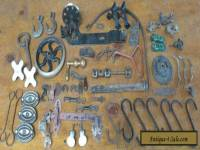 Lot of assorted Vintage Hardware for Crafts Steampunk Metal Pieces Parts