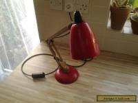 vintage retro Terence Conran mac lamp faux wooden arms model 1960s