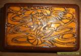 Chinese musical wooden box   needs work for Sale