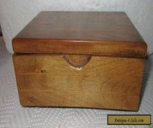 Vintage Wooden Music Box by Bett of Ryde - Thorens Swiss Movement - Spring Song for Sale