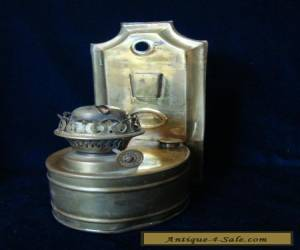 AN ANTIQUE OR VINTAGE ALBION LAMP CO, BRASS LAMP. for Sale