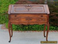 Antique French Oak Louis XV Fall Front Writing Desk Bureau Secretary PETITE