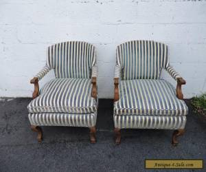 Henredon Hollywood Regency Pair of Mid Century Side by Side Chairs  7695 for Sale