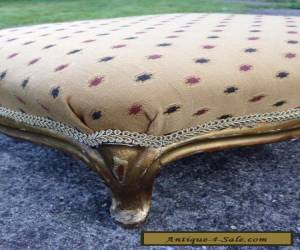 Item Antique French 19th Century Giltwood Foot Stool (Foot Rest) for Sale
