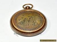 HOT Sale VINTAGE STYLE NECKLACE BRASS COMPASS ANTIQUE GIFT