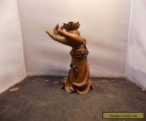 vintage chinese buddha sculpture  for Sale