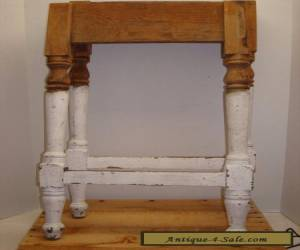 4 ANTIQUE TURNED WOOD TABLE LEGS SALVAGE FURNITURE for Sale