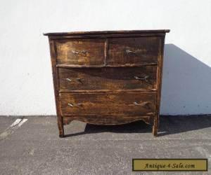 Dresser Antique Country Chest of Drawers French Provincial Vintage Shabby Chic  for Sale