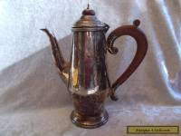 Vintage Reproduction Old Sheffield Silver Plate Tea Pot