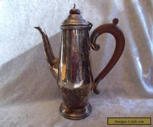 Vintage Reproduction Old Sheffield Silver Plate Tea Pot for Sale