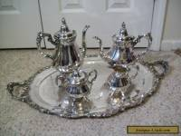 5 PC WALLACE BAROQUE TEA SET