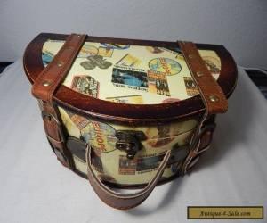 REPLICA VINTAGE-STYLE Decorative Wooden Suitcase box for Sale
