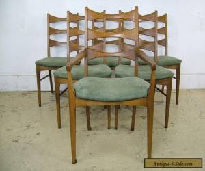 Buy 1 or 4 Mid Century Modern Solid Walnut Bowtie Dining Chairs Lane Furniture for Sale