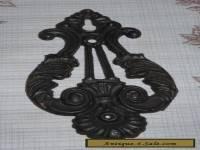 Vintage Cast Iron Keyhole Escutcheon