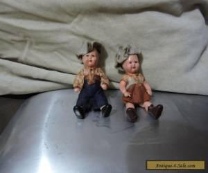 Miniature Dutch Dolls for Sale