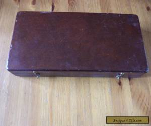 Vintage   wooden box ... fly fishing / float  box for Sale