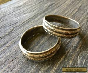 1900's Vintage Chinese Silver Bracelet, Pair  for Sale