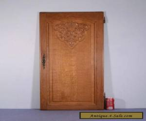*Large Vintage French Louis XV Carved Architectural Panel Door Wood-Oak 1 for Sale