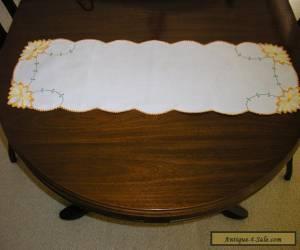 vintage Linen Table Runner for Sale