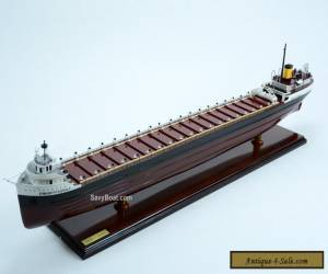 "SS Edmund Fitzgerald American Great Lakes freighter 40"" -  Wooden Ship Model  for Sale"