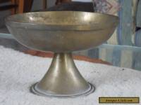 Solid Brass Bowl on Pedastal