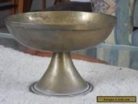 Solid Brass Bowl on Pedastal