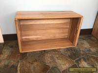 Large Wooden Crate Reclaimed Wood Box